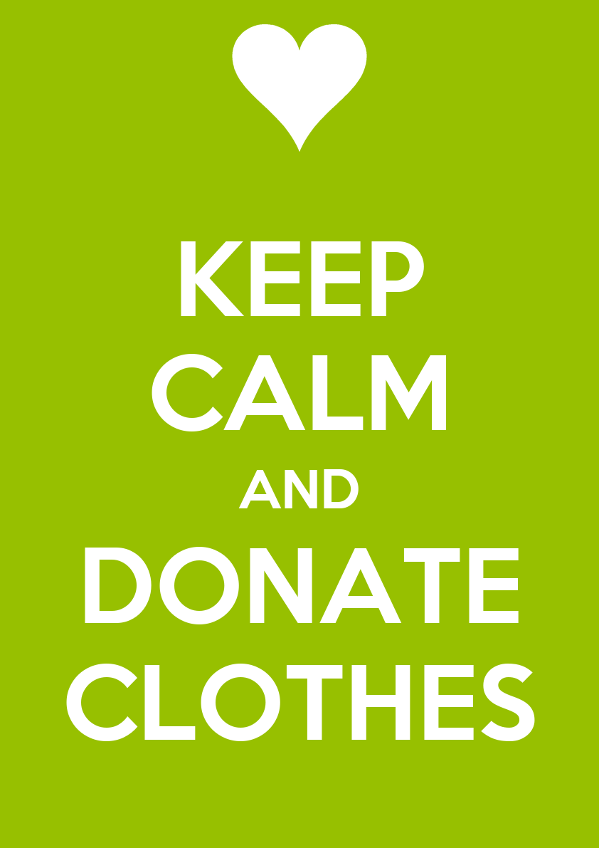 Clothing donations for taylor community which experienced for Shirts that donate to charity