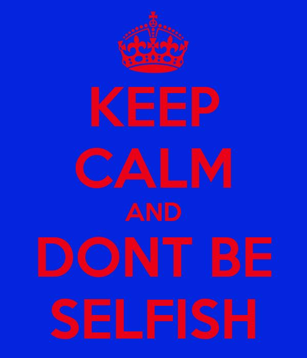 how to be selfish pdf