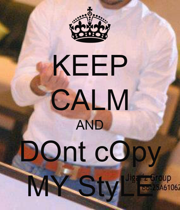 Dont Copy My Style Photo | Auto Design Tech