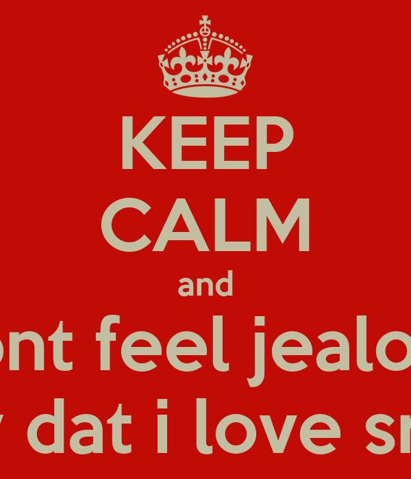 why i feel jealous