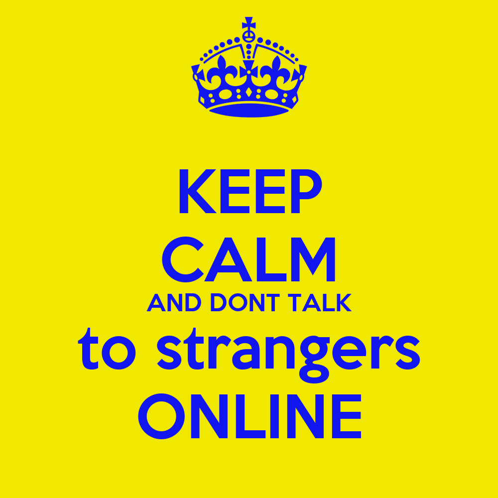 talk to stranger online library