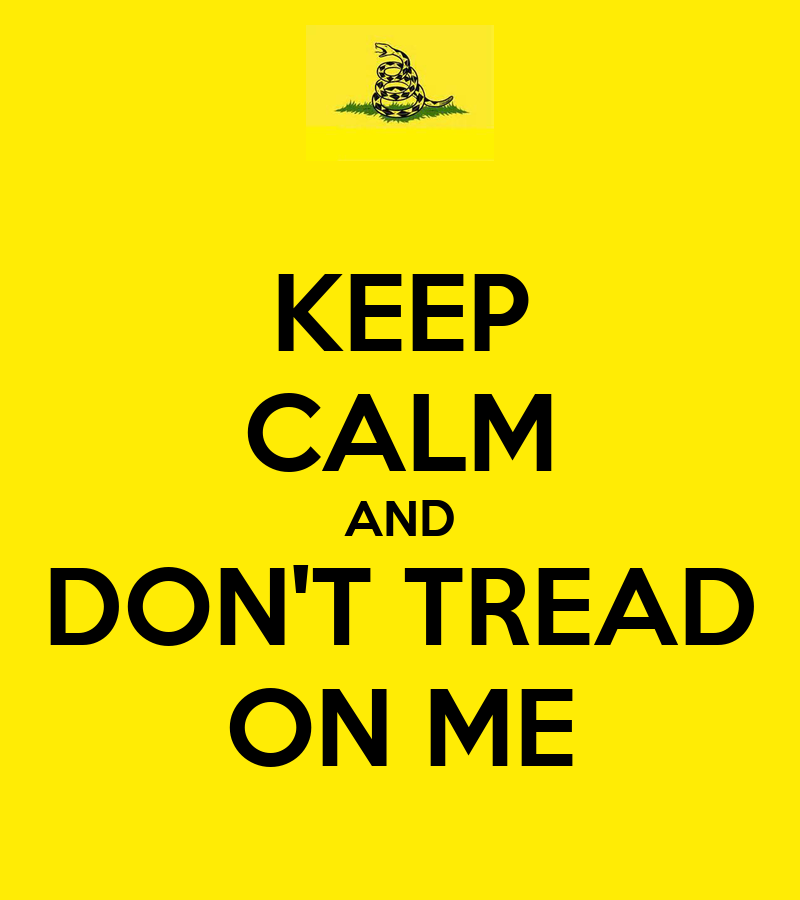 Dont Tread On Me Iphone Wallpaper