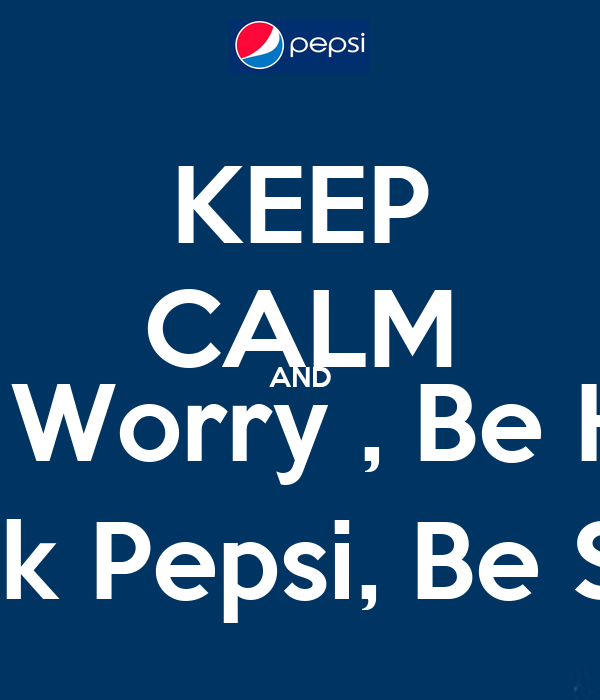 don t drink pepsi