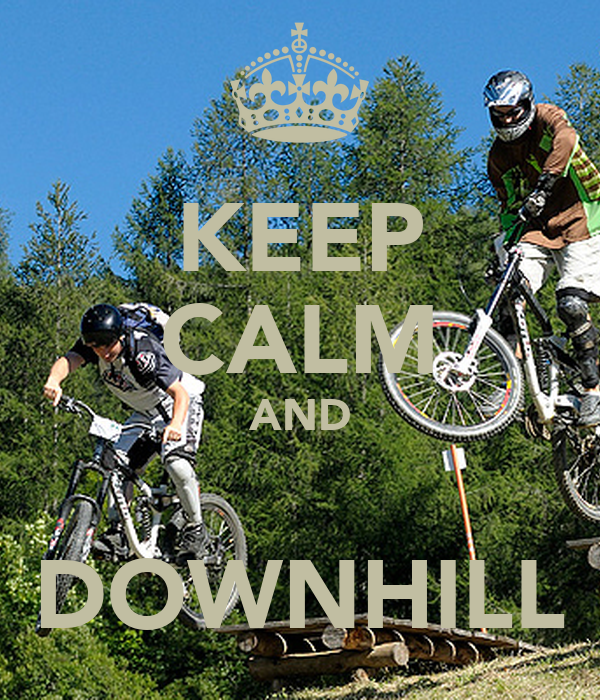 Downhill Wallpaper: KEEP CALM AND CARRY ON Image