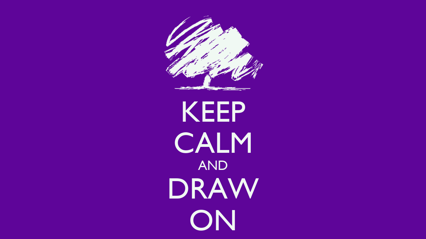 KEEP CALM AND DRAW ON Poster Bygy Keep Calm o Matic
