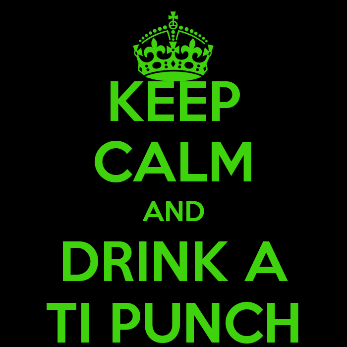 KEEP CALM AND DRINK A TI PUNCH Poster | mich | Keep Calm-o-Matic