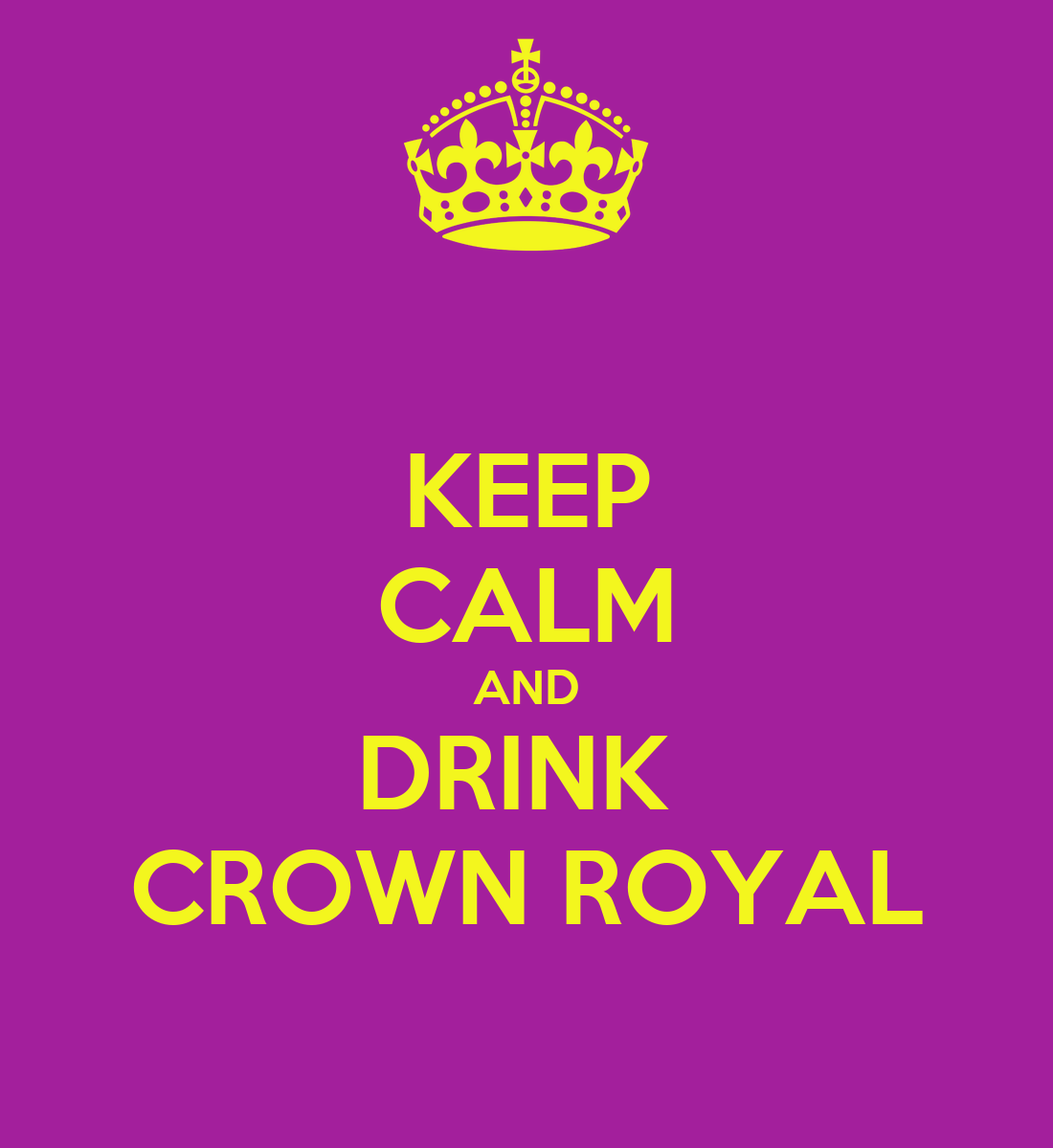 how to drink crown royal