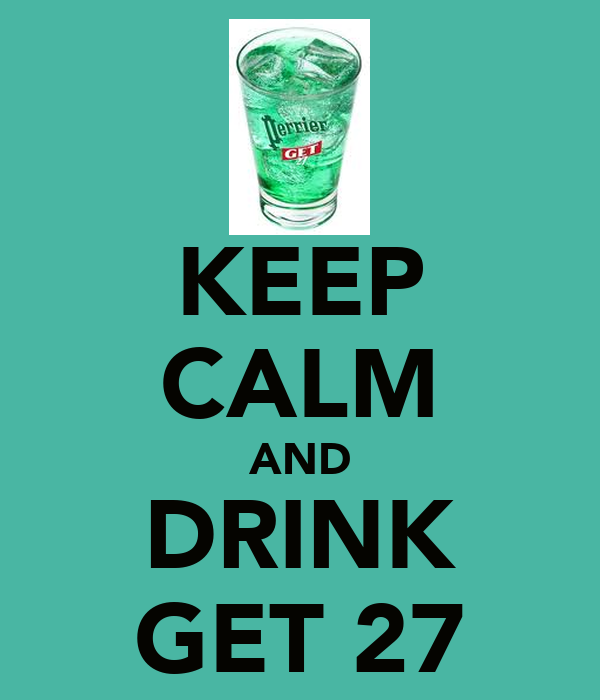 Keep calm and drink get 27 poster marine keep calm o matic for Cocktail get 27