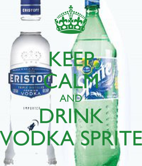 sprite and vodka drinks