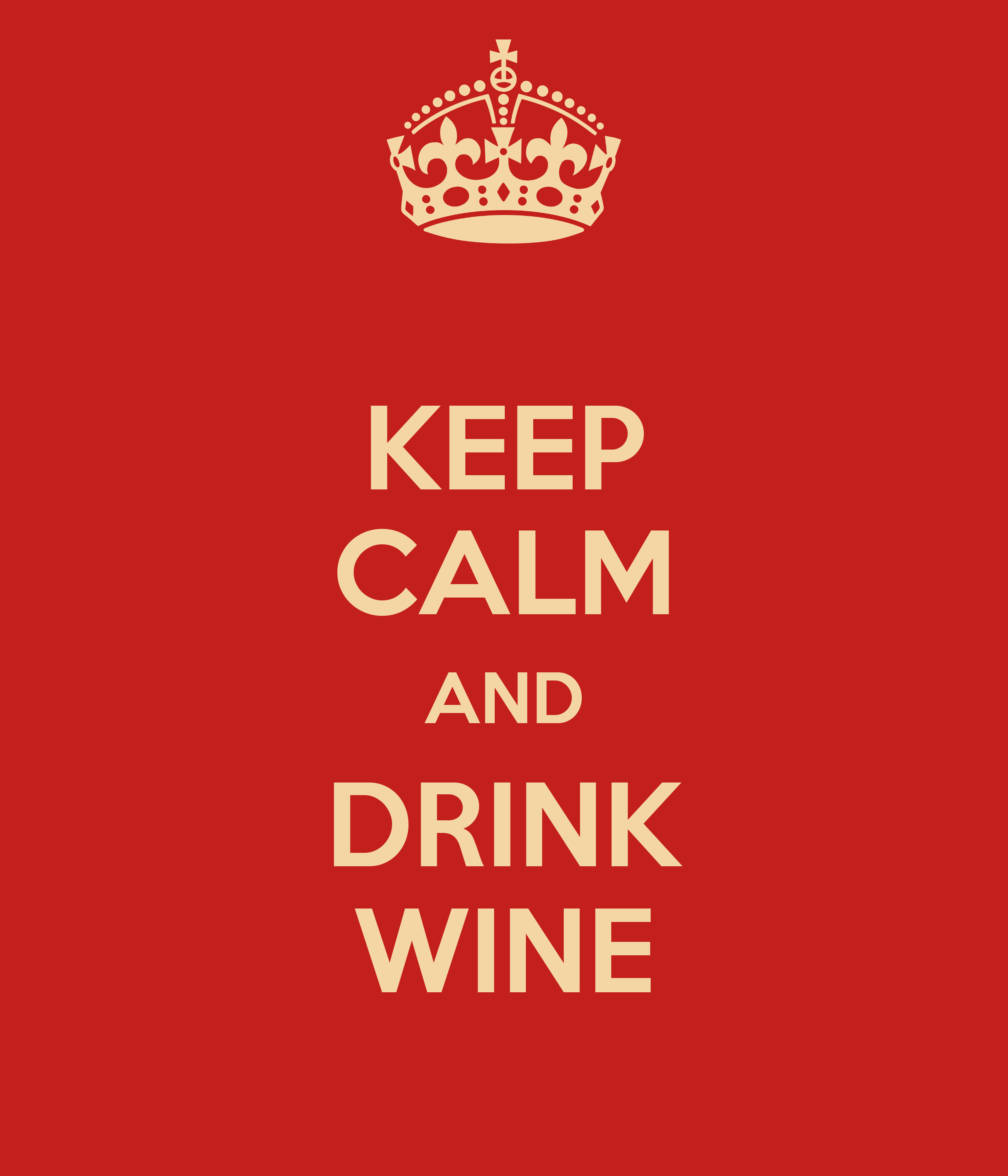 Wall Stickers Childrens Keep Calm And Drink Wine Keep Calm And Carry On Image