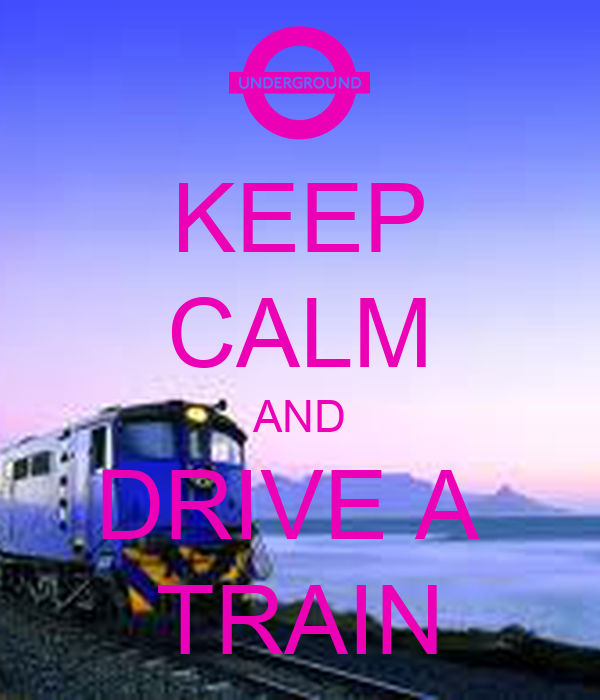 how to drive a train uk