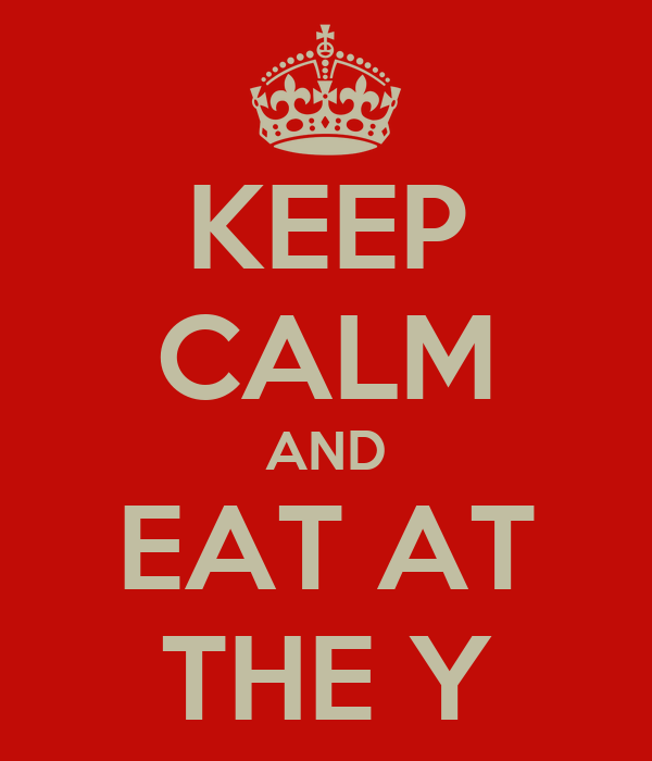Image result for eat at the Y