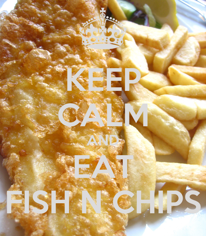 how to eat fish and chips
