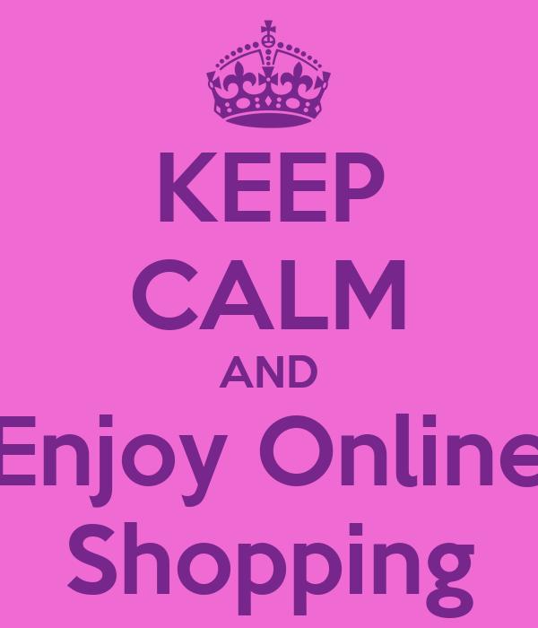 Keep Calm and Enjoy Online Shopping เสื้อฟุตบอล at iamsk38129.com