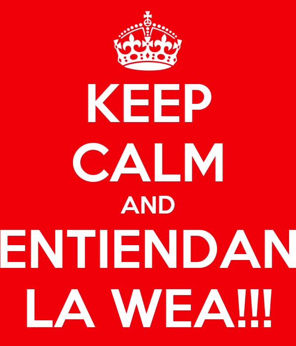 Black Alley #5 Keep-calm-and-entiendan-la-wea