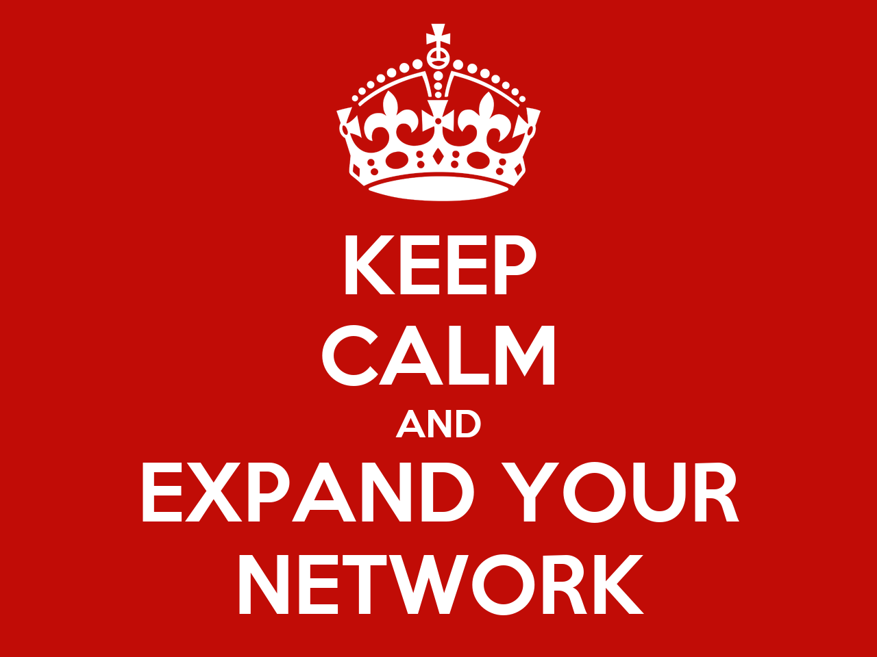 keep calm and expand your network poster yvc5090 keep calm o matic