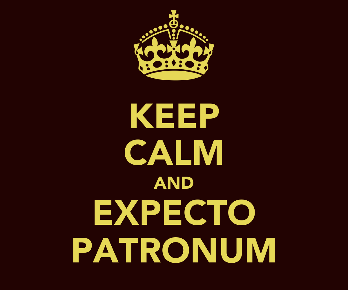 KEEP CALM AND EXPECTO PATRONUM Poster