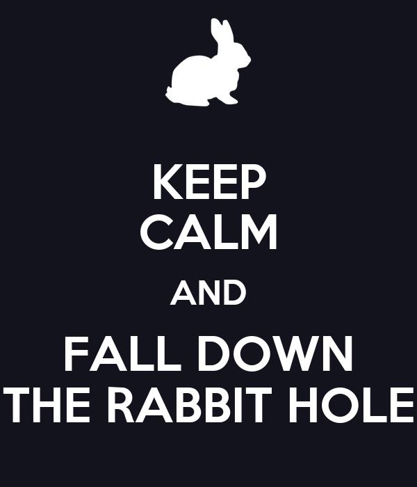 down the rabbit hole pdf