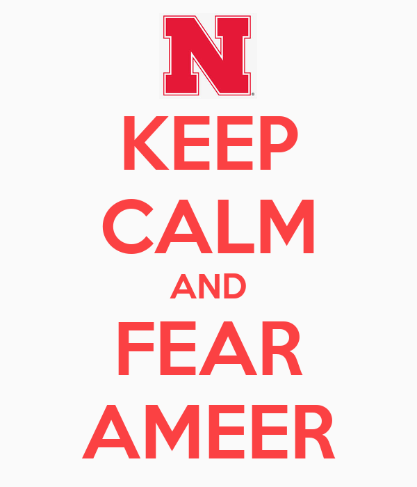 Fear Ameer Wallpaper Keep Calm And Fear Ameer