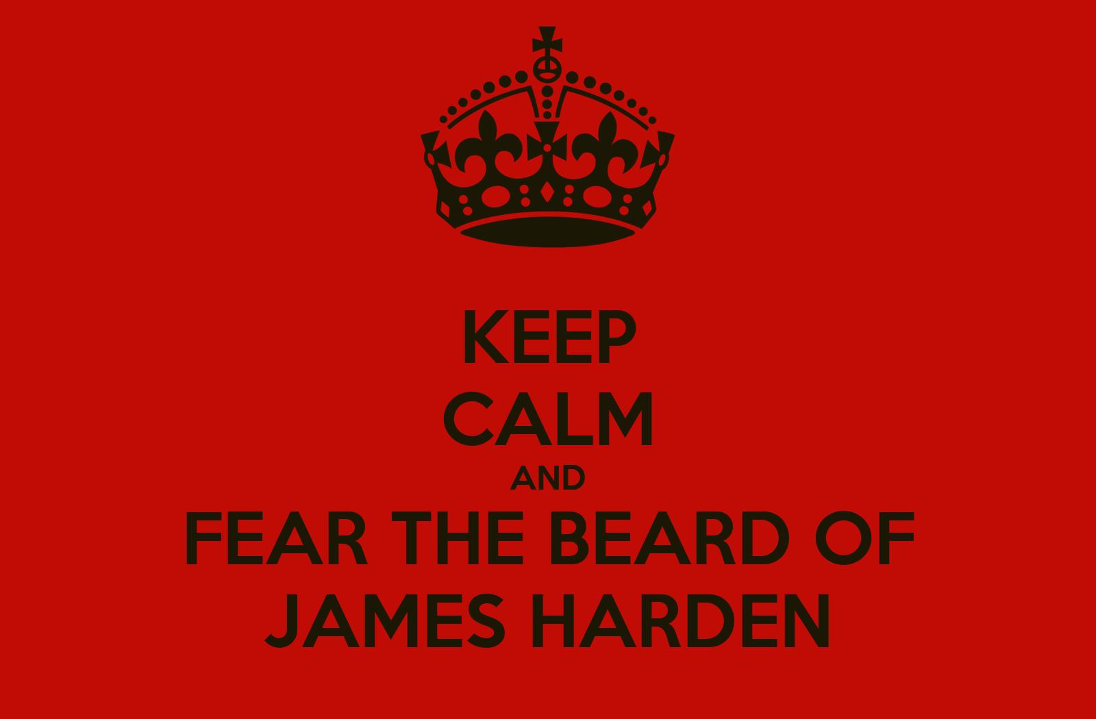 James harden fear the beard logo - photo#15