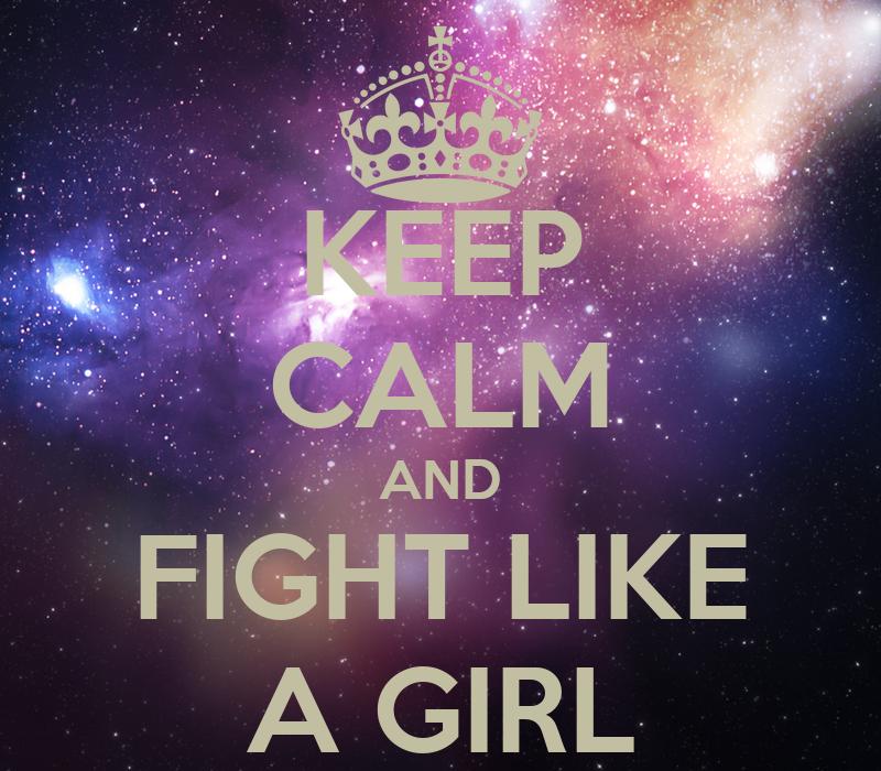 fight like a girl wallpaper - photo #9