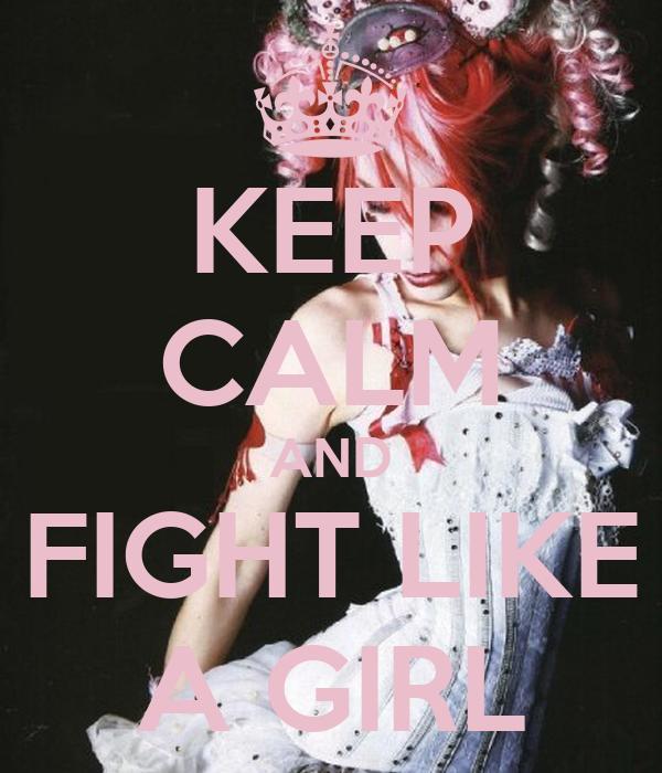 fight like a girl wallpaper - photo #21
