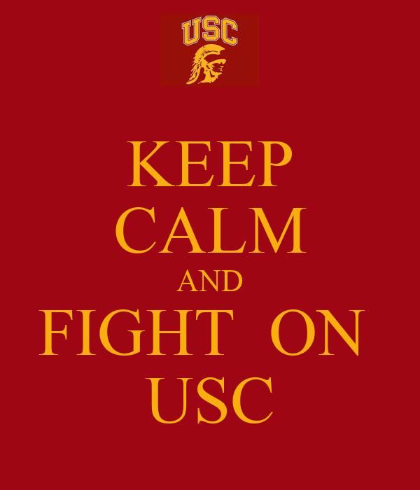 Usc Trojans Fight On Wallpaper Fight On Usc Logo | ww...