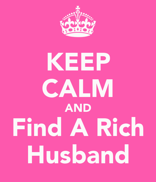 where to find a rich husband