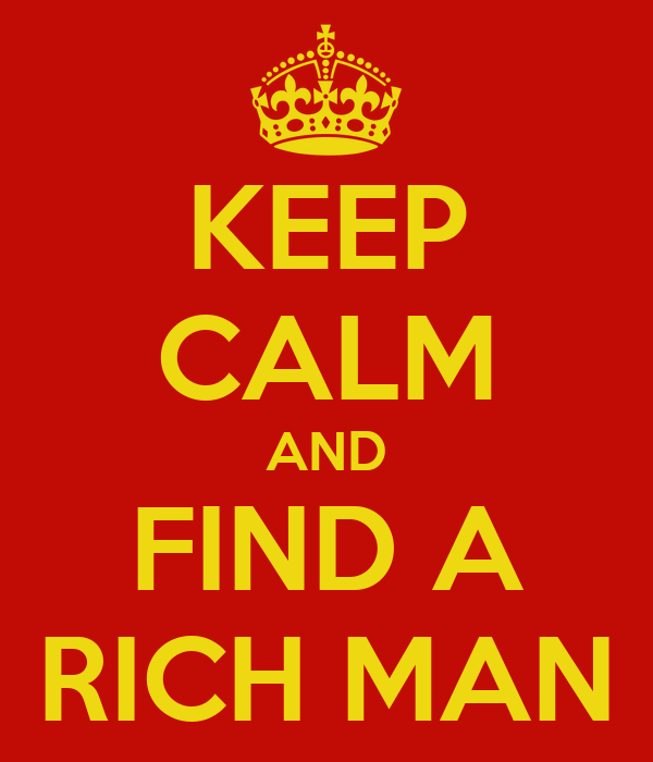 How to find a rich man for free