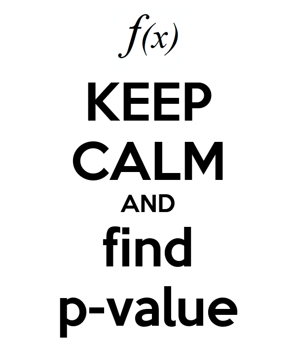 how to find p value spss