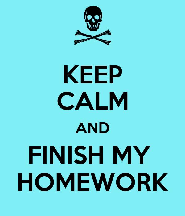 please do your homework