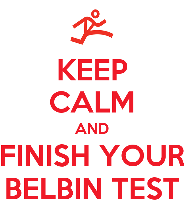 belbin test via thesis
