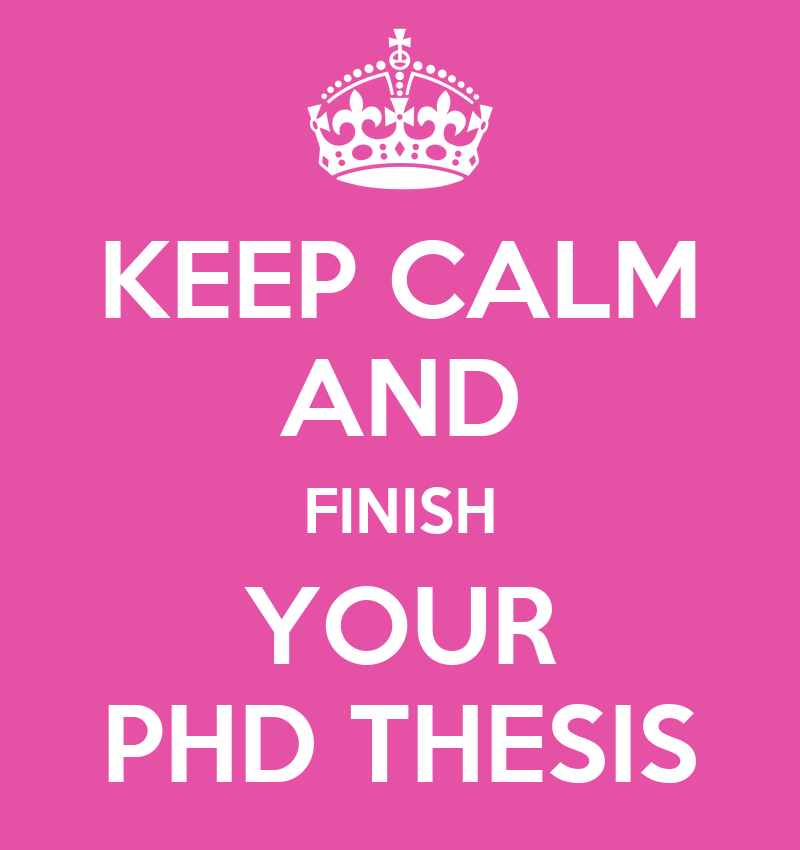 Is it possible to put in writing PHD thesis under 3 months?