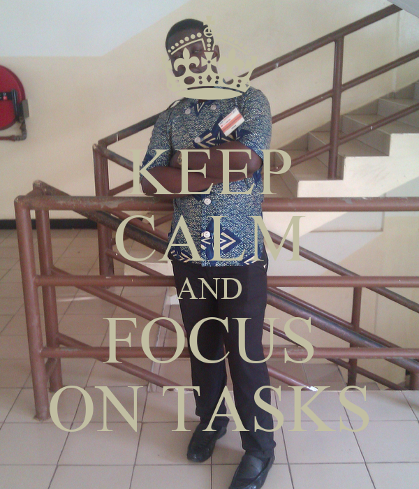 how to become focused on a task