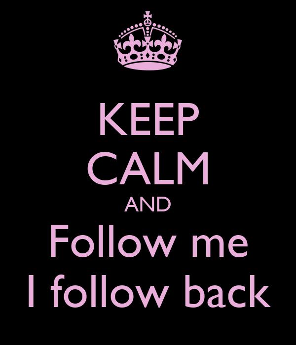 ❣Follow Me & I'll Follow Back❣