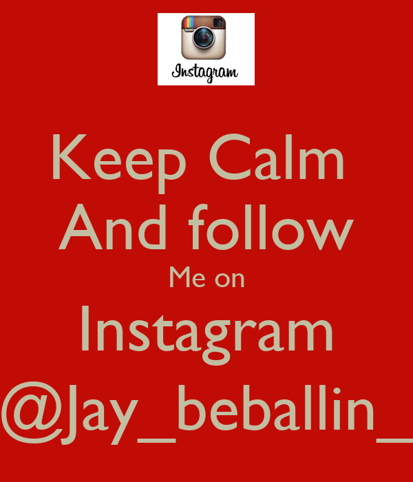how to say follow me on instagram