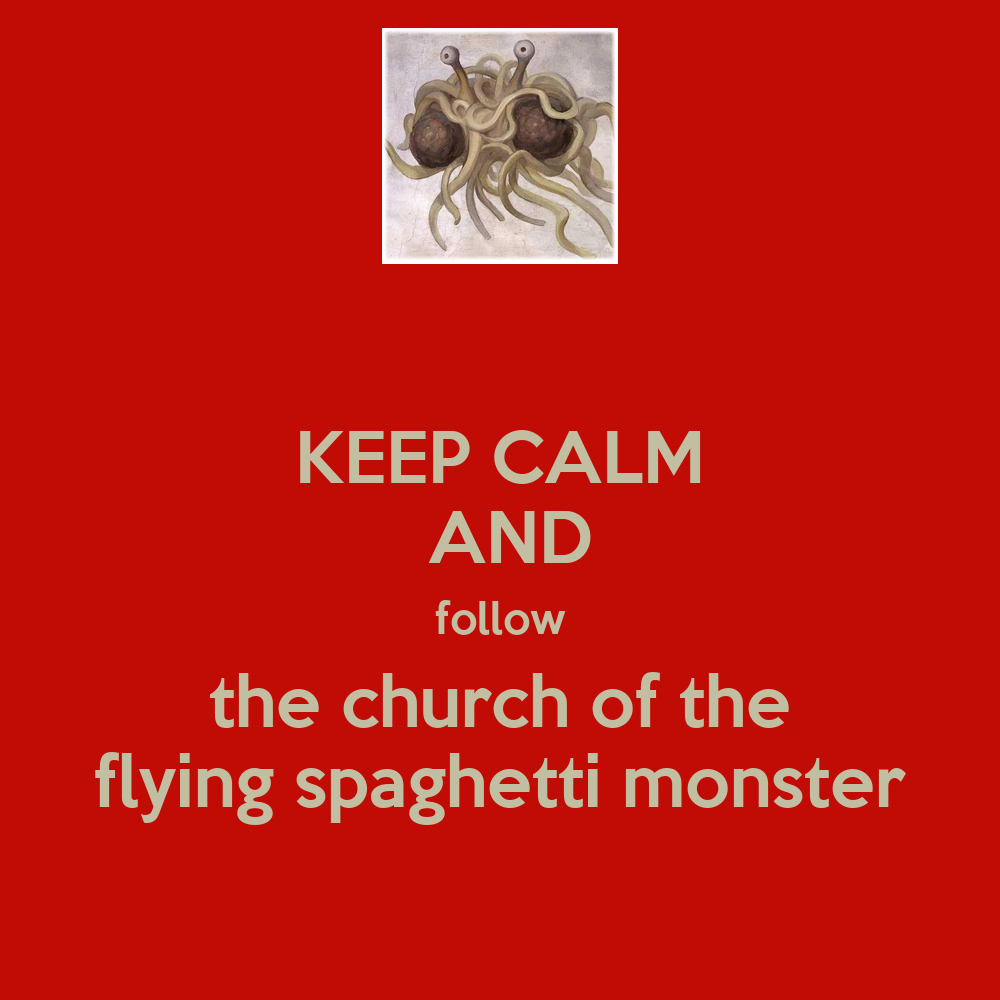 Exploring Pastafarianism And The Church Of The Flying Spaghetti Monster