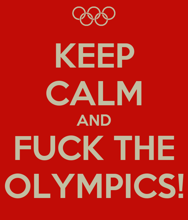 Fuck the olympics, deep peauty bottom
