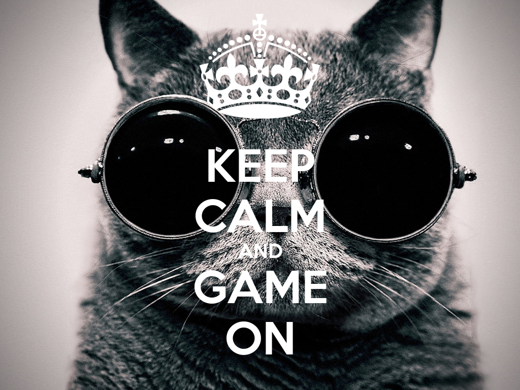 KEEP CALM AND GAME ON Poster Sonia PY Keep Calm o Matic
