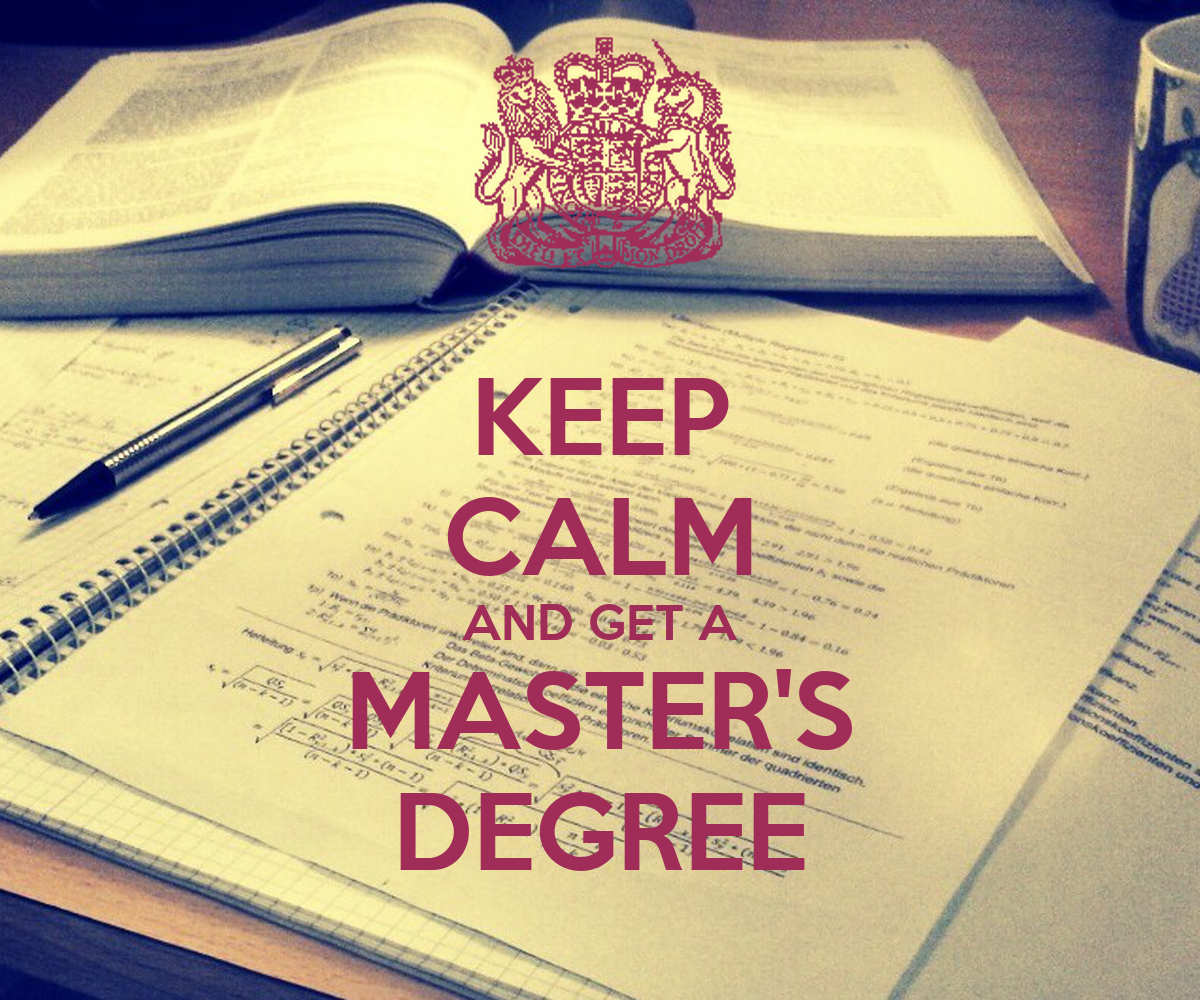 keep calm and get a master s degree poster hm keep
