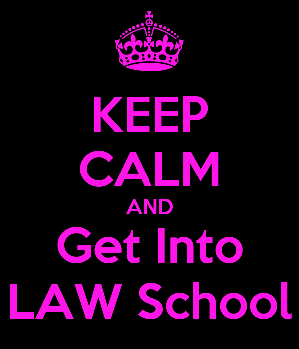 canada how to get into law school