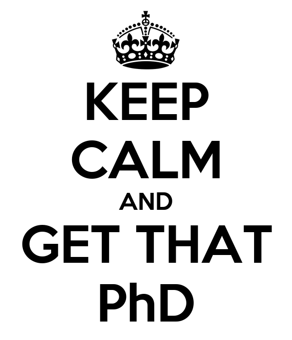 Get a phd