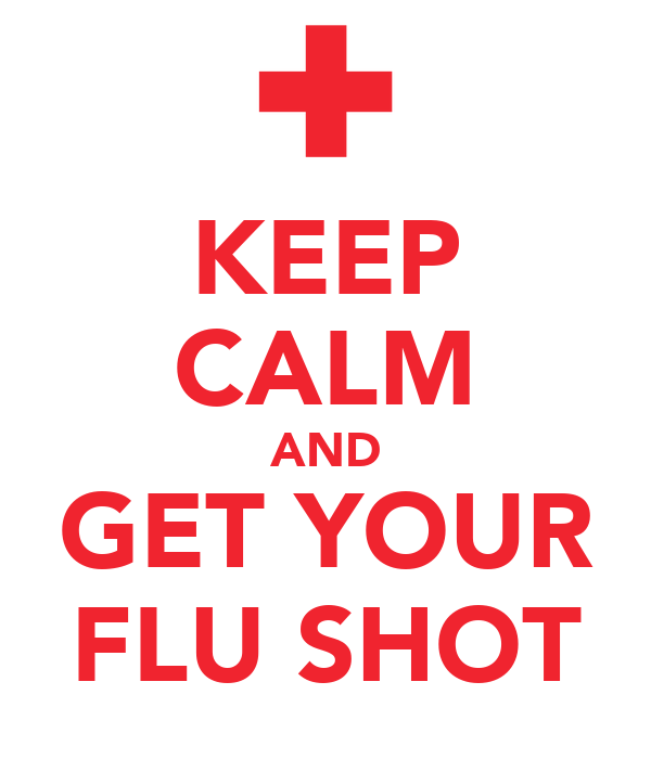 Flu Shot Poster Get this poster for your