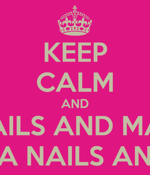 CALM AND GET YOUR NAILS AND MAKE-UP DONE BY SAKURA NAILS AND BEAUTY ...