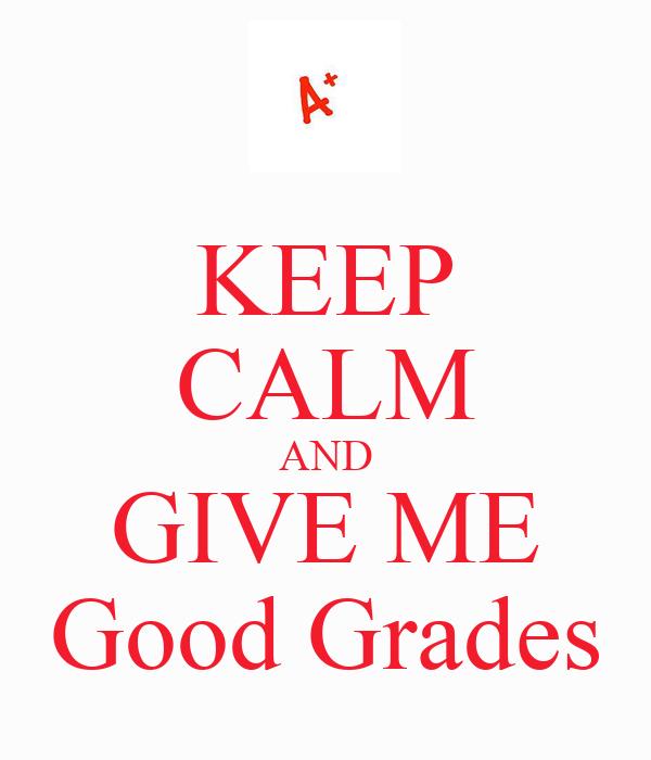 how do i get good grades