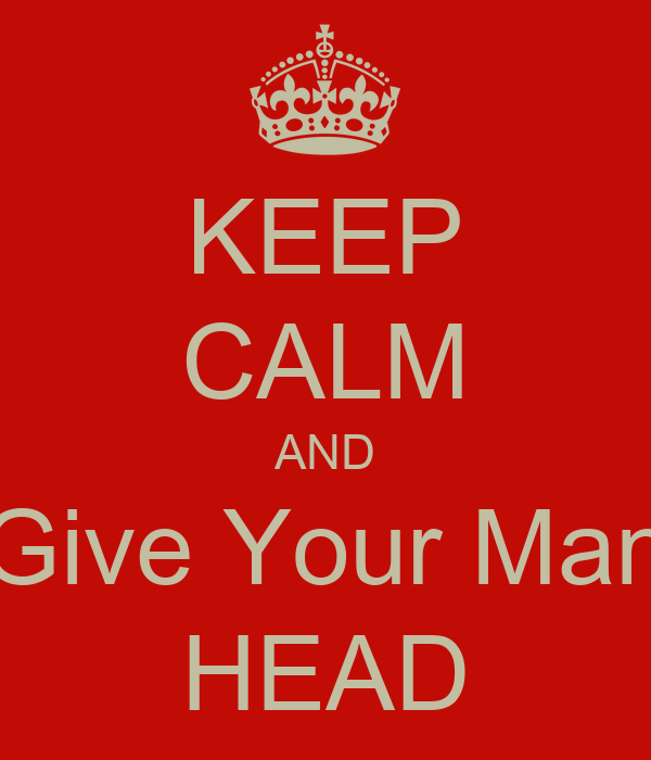 best way to give a man head
