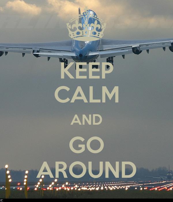Keep Calm And Go Around Poster Ryan Coyne Keep Calm O