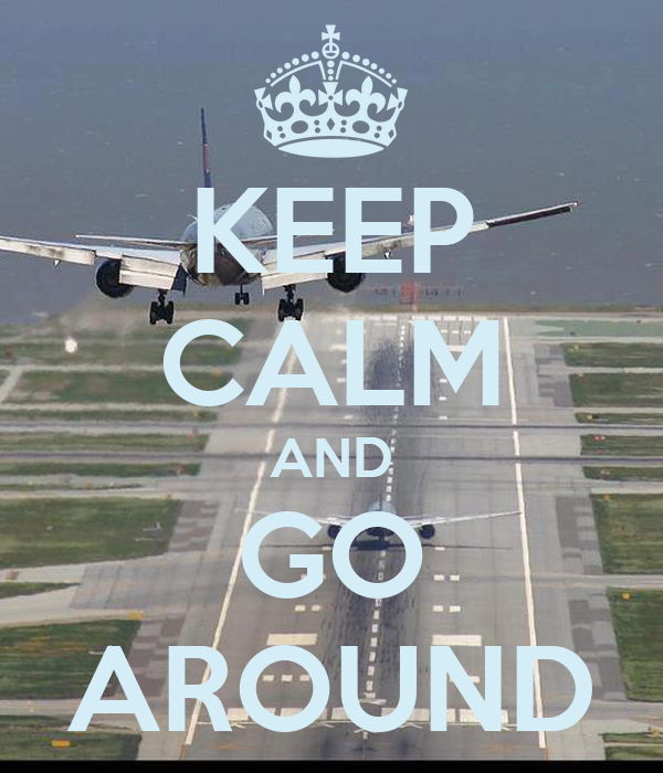 KEEP CALM AND GO AROUND Poster | Airliners Illustrated ...