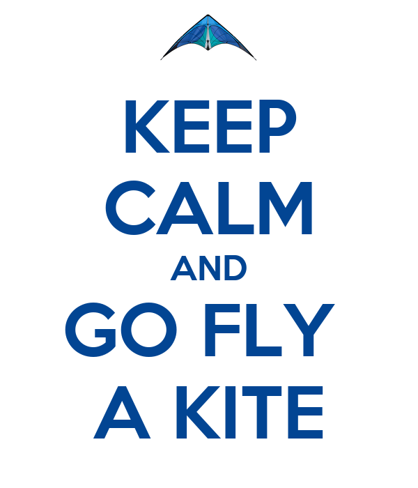 Image result for stay calm and go fly a kite