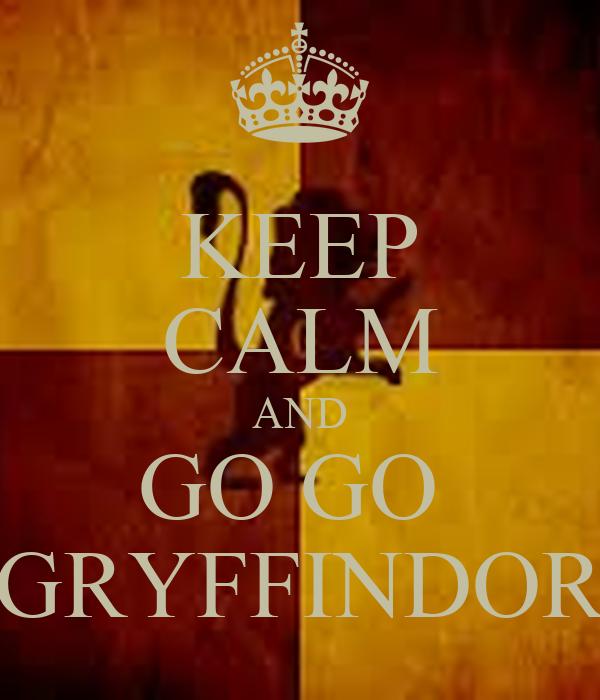 Quidditch 2016/2017: Hufflepuff vs Gryffindor Keep-calm-and-go-go-gryffindor-3